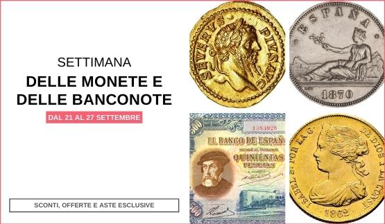 Settimana delle Monete e delle Banconote 2020