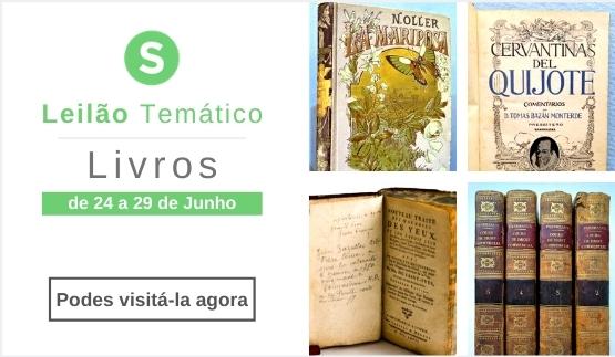 Leilão Temático - Livros - 2021