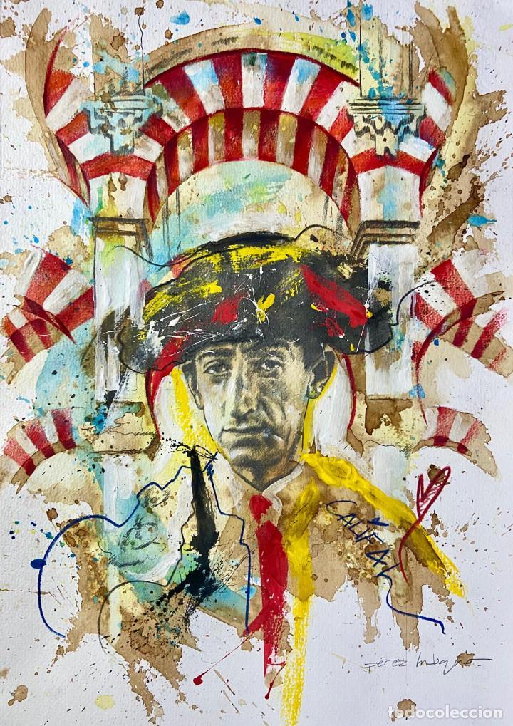 Subasta de Bondad - Pintura de Manolete