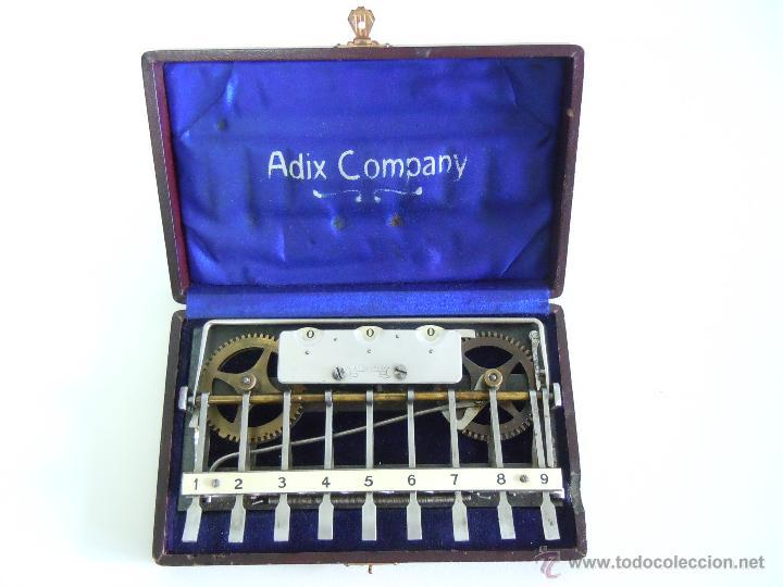 Calculadoras antiguas - Sumadora Adix