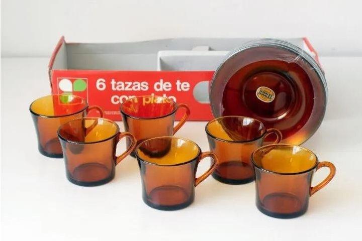 Tazas de té de Duralex