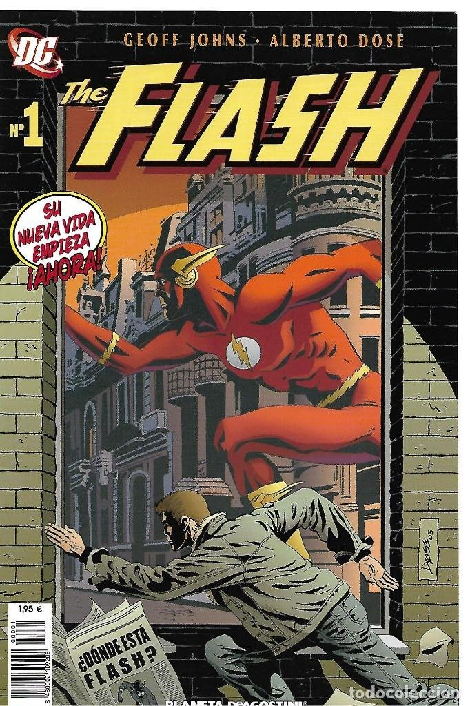 Cómic The Flash