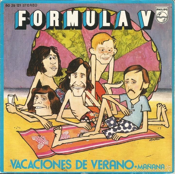 Vacaciones de Verano - Fórmula V