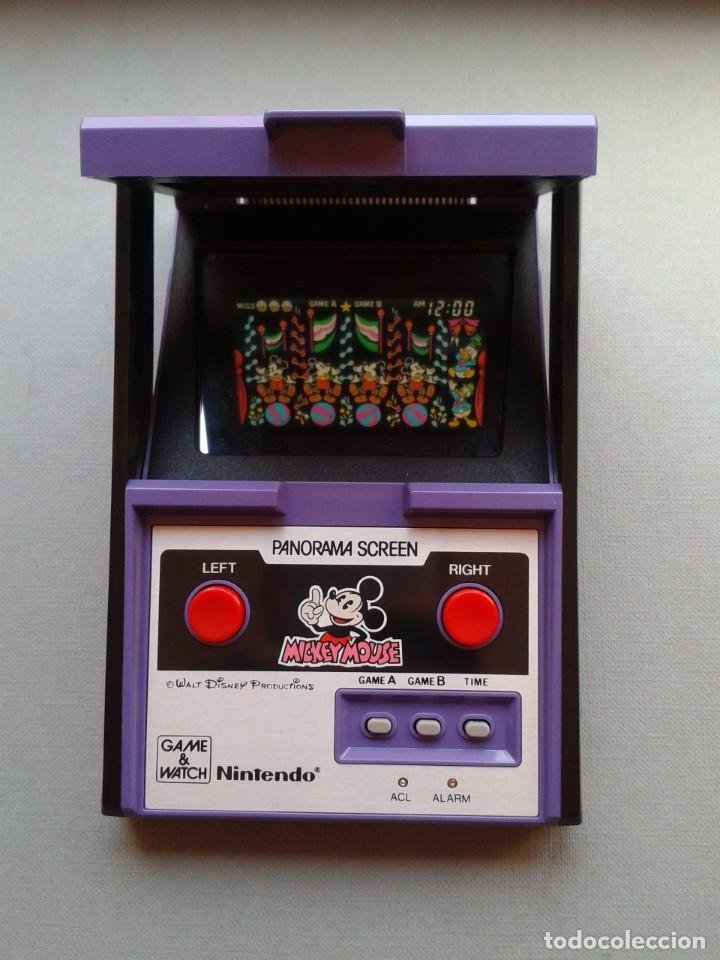 Game&Watch de Mickey Mouse