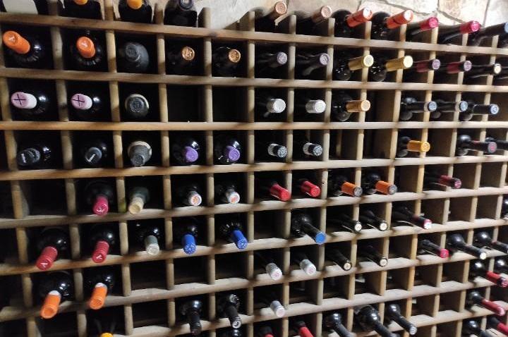 Colección de vinos