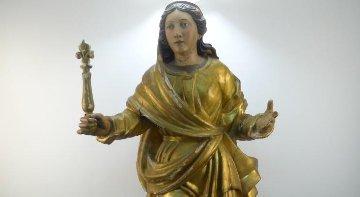 Talla Virgen barroca