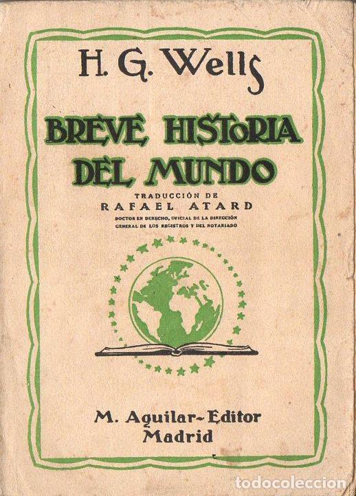 Breve historia del mundo - Aguilar