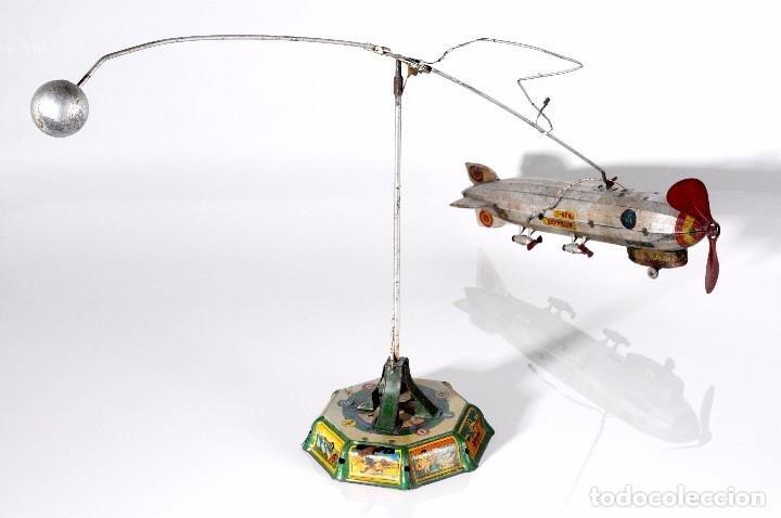 Avioneta Zeppelin de Payá