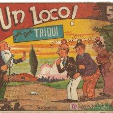 Tebeos: DON TRIQUI ( AMELLER ) ORIGINALES 1943 - 194 ? LOTE. Lote 26248983