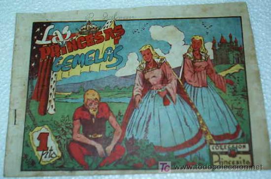 PRINCESITA COLECC. Nº 136 ORIGINAL - AMELLER 1945 (Tebeos y Comics - Ameller)