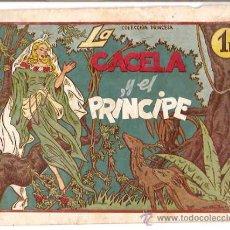Tebeos: COLECCION PRINCESA Nº 155, LA GACELA Y EL PRINCIPE ORIGINAL AMELLER 1945. Lote 15605673