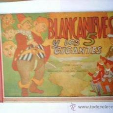 Tebeos: BLANCANIEVES Y LOS 5 GIGANTES --NUMERO 2-EDITORIAL AMELLER. Lote 25014963