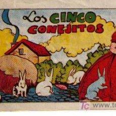Tebeos: LOS MIL Y UN CUENTO. AMELLER. Nº 249: LOS CINCO CONEJITOS. Lote 24928548
