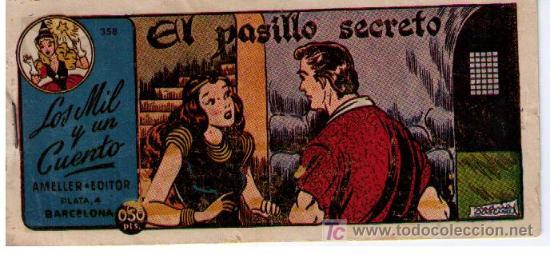 LOS MIL Y UN CUENTO. AMELLER. Nº 358 (Tebeos y Comics - Ameller)