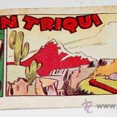 Tebeos: DON TRIQUI - Nº 18 - COLECCION COSAS DEL ARTE - ED. AMELLER - MUY RARO.. Lote 14092085