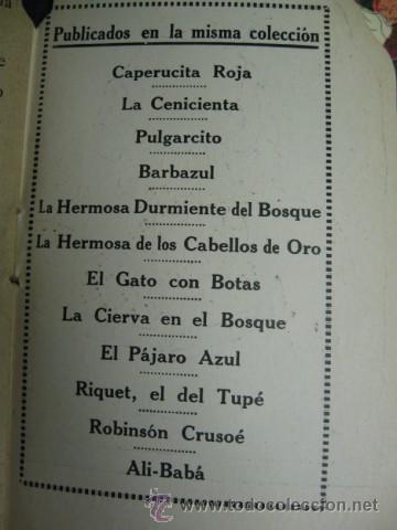 Tebeos: CONSERVADA Y COMPLETA COLECCION DE 12 CUENTOS, PRECIOSAS ILUSTRACIONES DE MAURICE BERTY. PP.SG.XX. - Foto 4 - 23513041