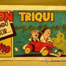 Tebeos: COMIC, DON TRIQUI, EDITORIAL AMELLER, Nº 35, ORIGINAL, APRENDIENDO A CONDUCIR. Lote 22543217