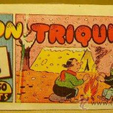 Tebeos: COMIC, DON TRIQUI, EDITORIAL AMELLER, Nº 27, ORIGINAL, NOCHE DE PANICO. Lote 22543302