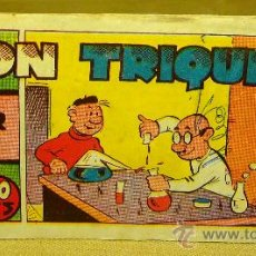 Tebeos: COMIC, DON TRIQUI, EDITORIAL AMELLER, Nº 26, ORIGINAL, INVENTOR. Lote 22543341