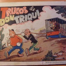 Tebeos: DON TRIQUI Nº 106 TRUCOS DE DON TRIQUI ( ORIGINAL ED. AMELLER 60 CTS ) ( ES ). Lote 26203982