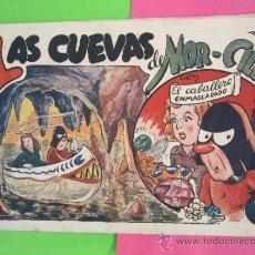 Tebeos: EL CABALLERO ENMASCARADO , NUMERO 13 , 1945, LAS CUEVAS DE MOR-CILLA , EDOTORIAL AMELLER. Lote 30802414