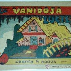 Tebeos: VANIDOSA LUCILA - CUENTO DE HADAS AMELLER Nº 46 DE 0,60, - ORIGINAL -AMELLER 1947 -. Lote 31010210