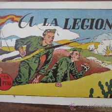 Tebeos: MONOGRAFICOS AMELLER, PIC NUMERO 5 , A LA LEGION, BUENA CONSERVACION AÑOS 40. Lote 33068058