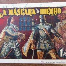 Tebeos: MONOGRAFICOS AMELLER, PIC LA MASCARA DE HIERRO, AÑOS 40. Lote 33068190