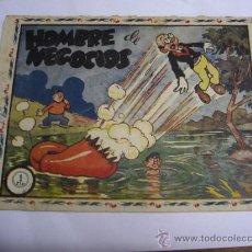 BDs: DON TRIQUI Nº 21 / HOMBRE DE NEGOCIOS / SEGUNDA ÉPOCA / AMELLER ORIGINAL. Lote 38347571