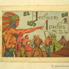 Tebeos: PETER KID Nº 16, EL HECHICERO DE LOS APACHES. EDITOR AMELLER, ORIGINAL. Lote 40998004