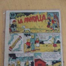 Tebeos: AMELLER, LA PANDILLA Nº 4 ,Y ULTIMO.- RARA Y DIFÍCIL MUESTRA.. Lote 41708782