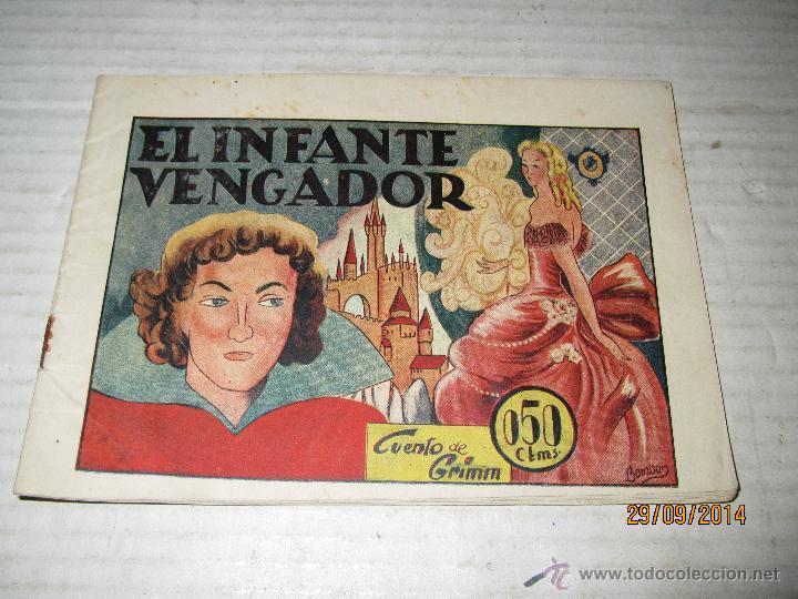 HISTORIAS GRAFICAS PILARÍN - EL INFANTE VENGADOR DE LA EDITORIAL AMELLER - AÑO 1940S. (Tebeos y Comics - Ameller)