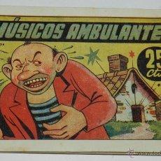 BDs: CUENTO AMELLER EDITOR, CUENTOS MARIPOSA, 8,50 X 12 CTMS. 25 CTS. MUSICOS AMBULANTES, EXCELENTE ESTAD. Lote 47336676