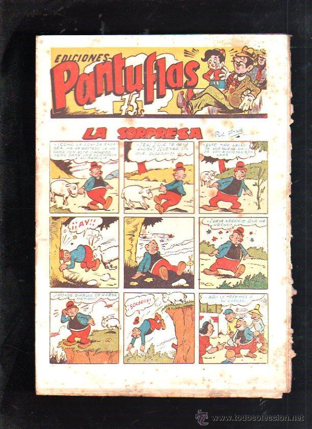 EDICIONES PANTUFLAS. LA SORPRESA. EDITOR AMELLER. (Tebeos y Comics - Ameller)