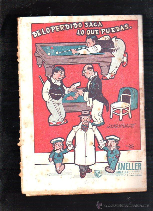 Tebeos: EDICIONES PANTUFLAS. LA SORPRESA. EDITOR AMELLER. - Foto 2 - 47483125