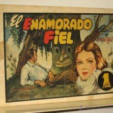 BDs: EL ENAMORADO FIEL HISTORIETAS GRAFICAS Nº 63 AMELLER EDITOR ORIGINAL AÑO 1944 - 1 PTA. OFERTA. Lote 48185639