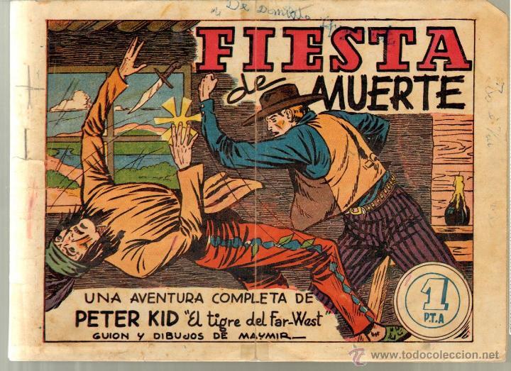 TEBEOS-COMICS GOYO - PETER KID - Nº 4 - AMELLER - 1951 - MUY RARO *BB99 (Tebeos y Comics - Ameller)