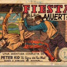 Tebeos: TEBEOS-COMICS GOYO - PETER KID - Nº 4 - AMELLER - 1951 - MUY RARO *BB99. Lote 49556706