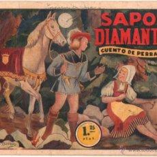 Tebeos: AMELLER ORIGINAL AÑOS 40 - CUENTO DE PERRAULT - SAPOS Y DIAMANTES. Lote 49957670