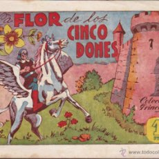 Tebeos: COMIC COLECCION PRINCESA LA FLOR DE LOS CINCO DONES Nº 19. Lote 50244962