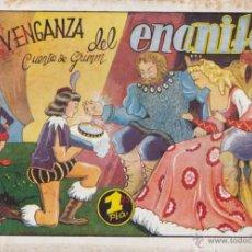 Tebeos: COMIC COLECCION CUENTOS AMELLER LA VENGANZA DEL ENANITO ILUSTRADO POR BOMBON . Lote 51118465