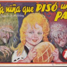 Tebeos: COMIC COLECCION CUENTOS AMELLER LA NIÑA QUE PISO UN PAN . Lote 51118507