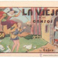 Tebeos: PILARIN - CUENTOS / HISTORIETAS GRAFICAS AMELLER 1942 ORIGINAL,CUENTO DE GRIMM,SIN ABRIR NI CIRCULAR. Lote 52007314