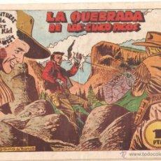 Tebeos: AVENTURAS DE PETER KID EL TIGRE DEL FAR WEST ORIGINAL Nº 25 - EDI. AMELLER 1950 - DIBUJOS DE RAMOS. Lote 52007456
