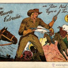 Tebeos: ARCHIVO (258): PETER KID , EL TIGRE DEL FAR WEST Nº 10 (AMELLER, 1951). Lote 52771839
