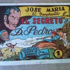 Tebeos: JOSE MARIA EL TEMPRANILLO , Nº 11 - AMELLER - TA. Lote 54355052