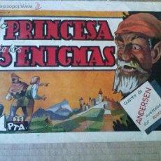 Tebeos: HISTORIETAS GRAFICAS , AMELLER Nº 78-LA PRINCESA DE LOS TRES ENIGMAS 1942 -, 45- ORIGINAL ,TA. Lote 54830575