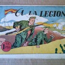 Tebeos: HISTORIETAS GRAFICAS , AMELLER Nº 5--1942-45- A LA LEGION - ORIGINAL ,TA. Lote 54831053