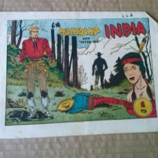 Tebeos: LA MUCHACHA INDIA CON PETER KID - - AMELLER -TA . Lote 55887368