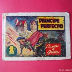 Tebeos: EL PRÍNCIPE PERFECTO - CUENTO DE GRIMM - AMELLER EDITOR - CIRCA 1945.. Lote 57158756